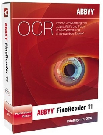 ABBYY FineReader / Файнридер 11.0.102.481 Professional Edition + ключ