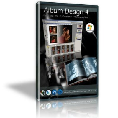 Album Design 4.0 for Photoshop + ключ