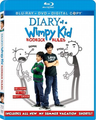 Дневник слабака 2 / Diary of a Wimpy Kid: Rodrick Rules (2011/HDRip)
