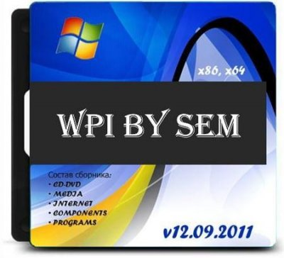 Windows WPI by Sem v. 2011 (RUS)