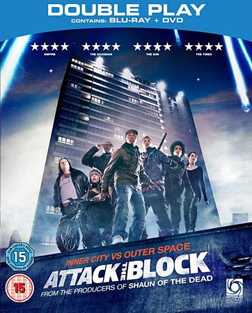 Чужие на районе / Attack the Block (2011/HDRip)