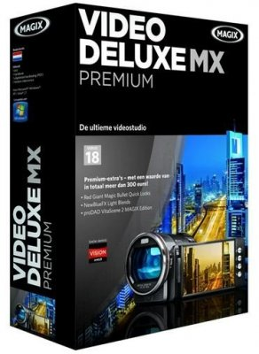 MAGIX Video Deluxe MX Premium 18 v 11.0.1.4