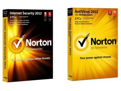 Ключи для продуктов NORTON / Нортон от 11.11.2011