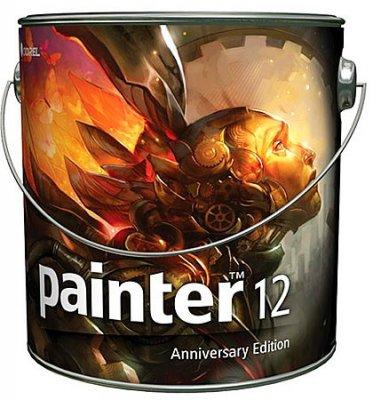 программа для рисования Corel Painter 12.0.1.727 (2011) + русификатор