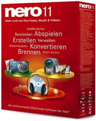 Неро 11 / Nero 11.0.11200 Lite Portable (2012)