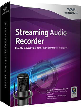 Wondershare Streaming Audio Recorder 2.0.3 (2012) + ключ