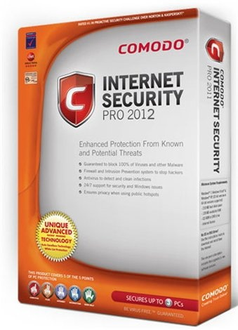 антивирус Comodo Internet Security Premium 2012 5.9.221665.2197 Русский