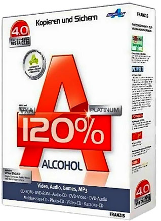 Алкоголь / Alcohol 120% v2.0.2 Build 3929 Portable/RePack (2012) + ключ, кряк, лекарство активации, код