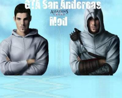 ГТА / GTA / Grand Theft Auto: San Andreas - Assassin's Creed Mod (PC/2011/RePack/RUS)