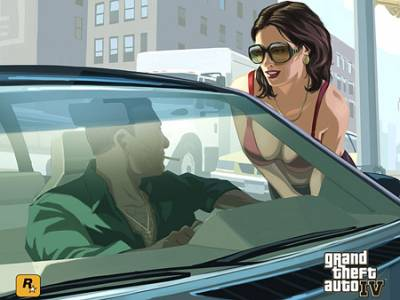 ГТА / GTA / Grand Theft Auto: IV качество идеальное (RePack UltraISO/RUS)