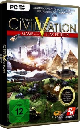 игра Цивилизация 5 / Civilization V: GOTY v1.0.1.674 + 13 DLC (PC/RePack Fenixx)