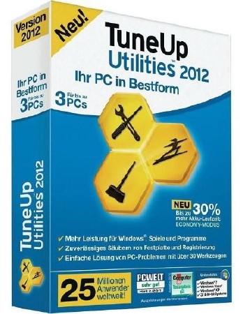 TuneUp Utilities 2012 v 12.0.3600.86 Final + New Patch (Официальная русская версия!) RUS + ключ, кряк