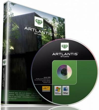 Artlantis Studio 4.1.6.2 (2012) + кряк