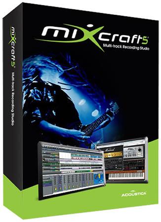 Acoustica Mixcraft v6.1 Build 201 x86 + Portable (2012) + ключ