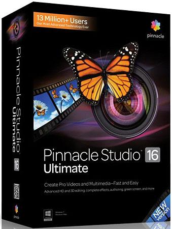 Пинакл Студио / Pinnacle Studio 17.0.1.134 Ultimate русская версия