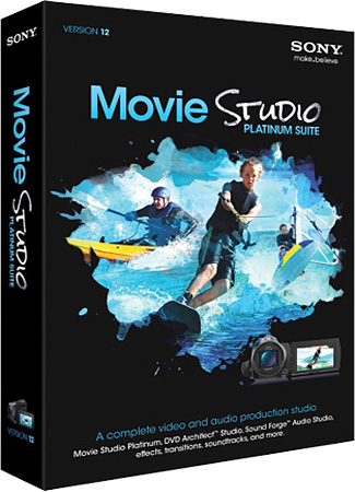 Sony Movie Studio Platinum 12 Suite (32-64bit/2012)
