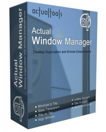 Actual Window Manager 7.2 Final (RUS) + ключ, кряк
