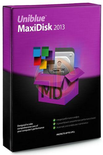 Макси Диск / Uniblue MaxiDisk 2013 1.0.3.10 (2012) + ключ, кряк, лекарство активации, код