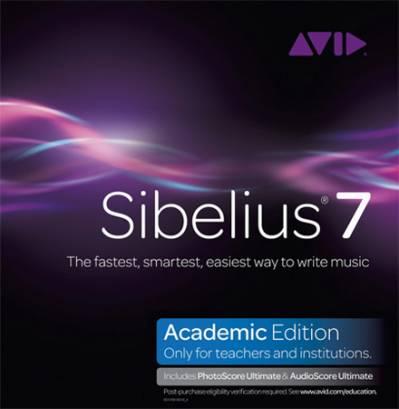 Нотный редактор AVID Sibelius 7.1.3.77 (+ русификатор Х86/Х64)