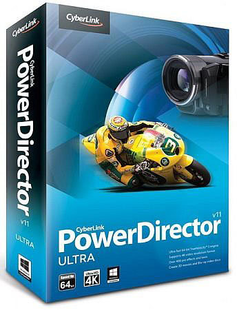 КиберЛинк / CyberLink PowerDirector 11 Ultra 11.0.0.2215 (2012)