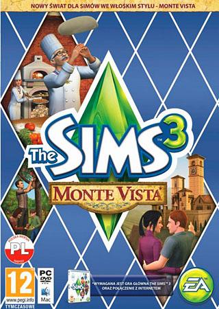 Симс 3: Монте Виста / The Sims 3: Monte Vista (2013) + ключ, коды