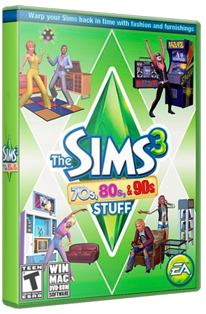 Симс 3 / The Sims 3 70s, 80s & 90s Stuff (2013/RUS)