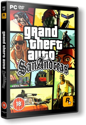 Скачать ГТА Сан Андреас / GTA San Andreas на ПК 2CD