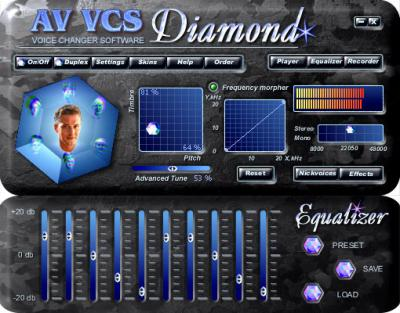 AV Voice Changer Software Diamond 7.0.34 Русский+ ключ / кряк