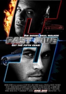 Форсаж 5 / Fast Five (2011/DVDScr)