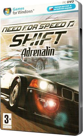 Нид Фор Спид Шифт Адреналин / Need for Speed: Shift. Adrenalin (RePack) NFS