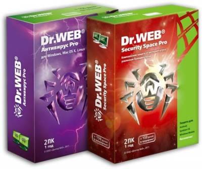 Dr.Web Антивирус & Security Space + ключ