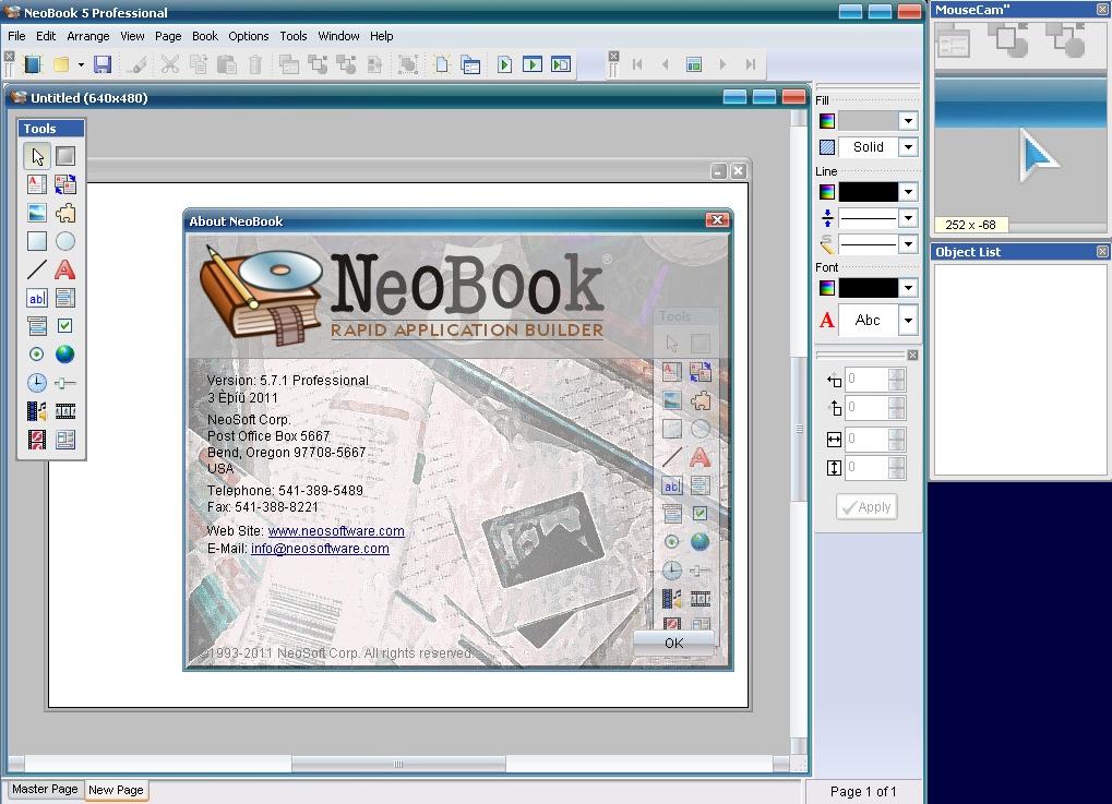 Neobook manuale