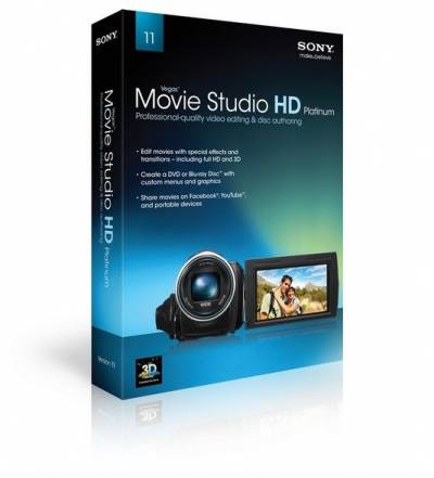 Sony Vegas Movie Studio HD Platinum 11.0 Build 220 + ключ