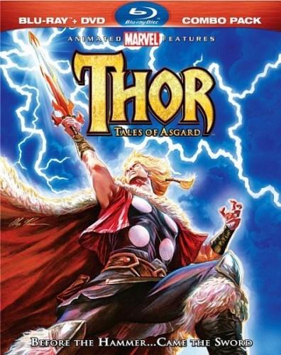 Тор: Сказания Асгарда скачать бесплатно DVDRip (2011)