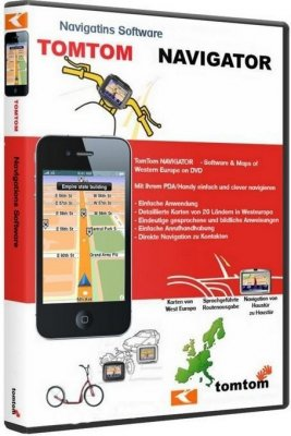 TomTom - East Europe & Russia Map (2011/ML) build 870.3460 + ключ