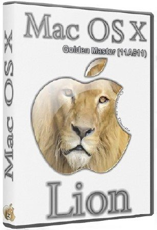 Mac OS X 10.7 Lion Golden Master Build 11A511 (2011/ENG/RUS)