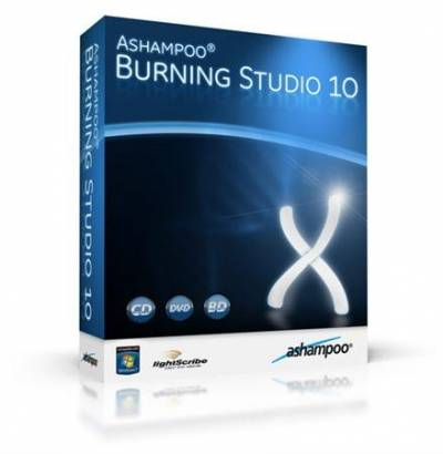 Ashampoo burning studio 10 + ключ, кряк