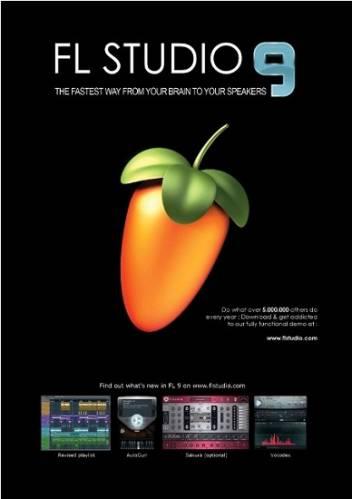 Fruty Loops / FL Studio / Фрути Лупс 9 Final русская версия + ключ, кряк, кейген, русификатор