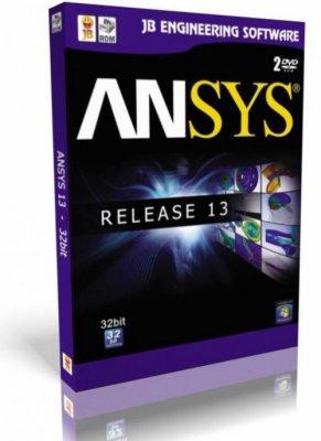 Ансис / Ansys v13 x86/x64 (2011/ML) + ключ