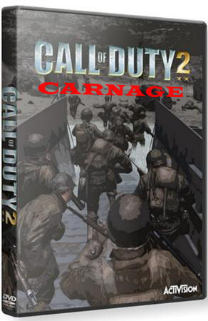 Кал Оф Дьюти 2 / Call of Duty 2 / COD 2 - Carnage мод (PC/2011/RUS) + ключ