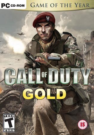 Кал Оф Дьюти / CoD / Call of Duty: Золотое издание (Полностью на русском)