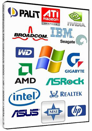 Все драйвера для Windows: DriverPack + SamLab v.1.0 2011 (x86/x64)