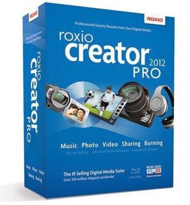 Roxio Creator 2012 PRO (ISO)