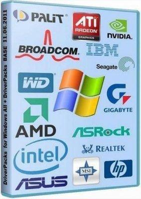 Все драйвера для Виндовс / DriverPacks for Windows 2000 / XP / 2003 / Vista / 7 (28.08.2011)
