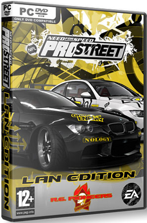 Нид Фор Спид: Про Стрит / Need for Speed Pro Street-Lan Edition (PC/RePack/RUS) NFS