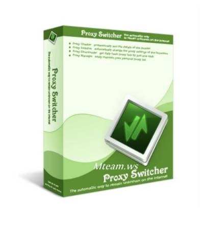 Прокси Свитчер / Proxy Switcher v.5.2.0 + ключ, кряк